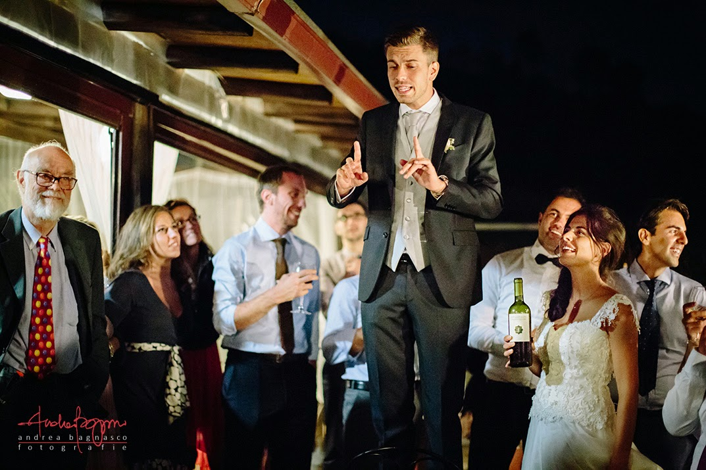 ricevimento matrimonio Agueta du Sciria Arenzano