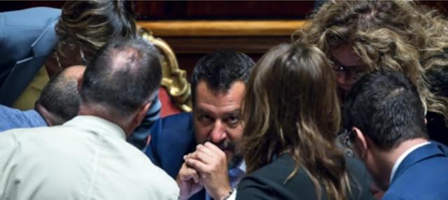 هل تسقط الحكومة الإيطالية أخيرا؟ خلافات حادة بين حزب سالفيني وحركة النجوم الخمسة