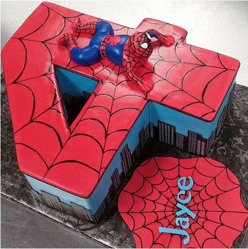 Kue Ultah Spiderman
