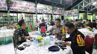 Perkuat Sinergitas TNI-Polri, Kapolres Pangkep Silaturahmi ke Kodim