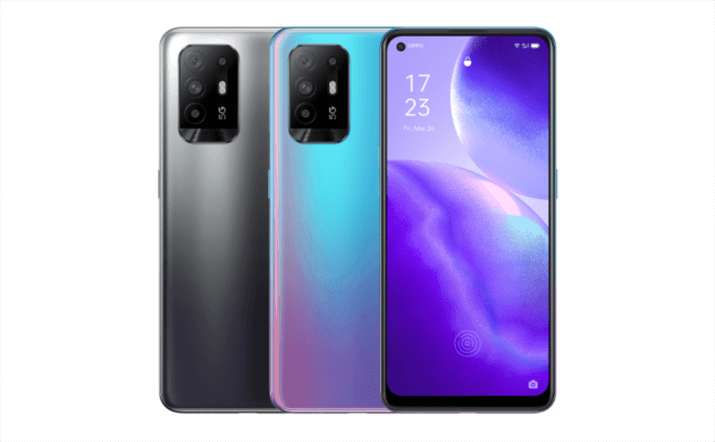OPPO outs Reno5 Z with MediaTek Dimensity 800U chip and 48MP quad cameras!