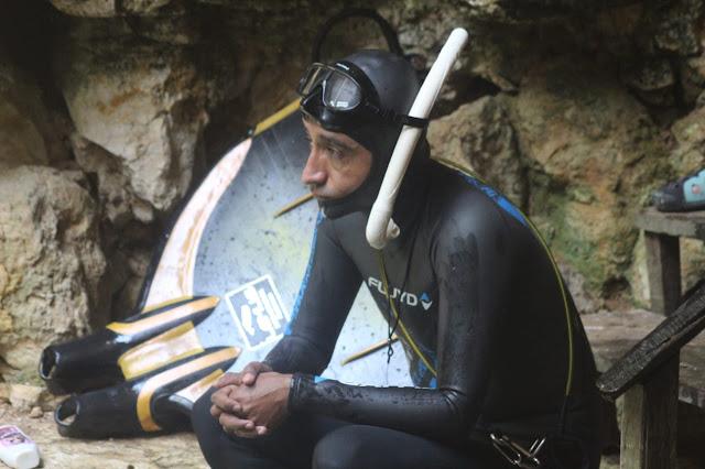 Fue el primer mexicano en romper un récord mundial en apnea, lo que hace más importante su logro, independientemente que mañana domingo y el lunes irá por otros 2 récords mundiales