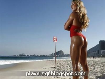 Adriano's hot girlfriend Joana Machado
