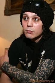 114cd1d44 HIM frontman Ville Valo, had wanted to cancel the tour in America, when her  ex-girlfriend would beat her. Ville Valo gets hit in the forehead that  cause eye ...