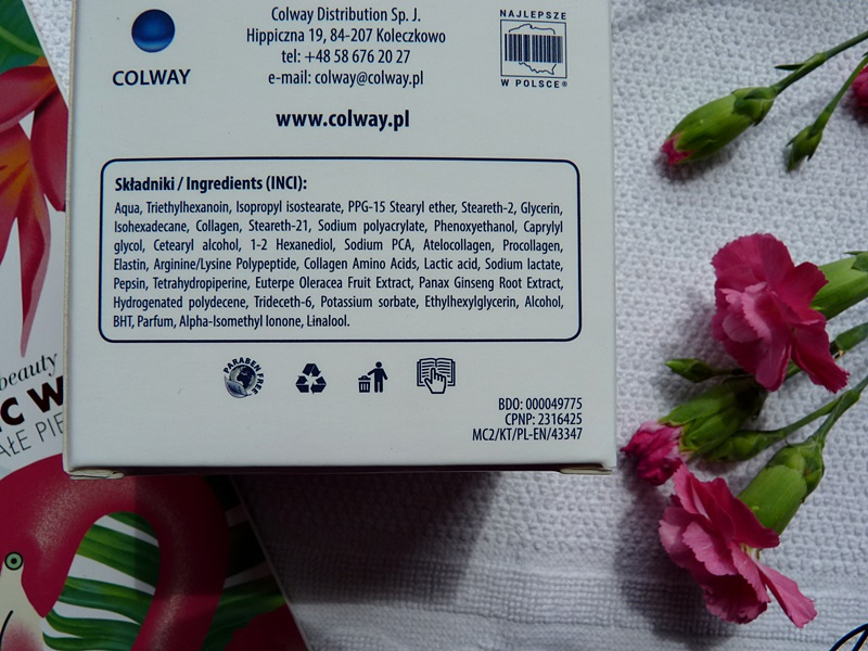Colway atelokrem MC2 biomimetyczny krem inci ingredients