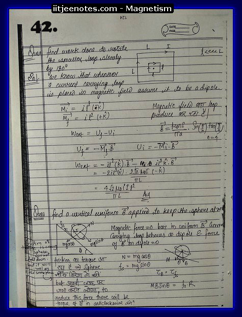 Magnetism Notes class 12-1