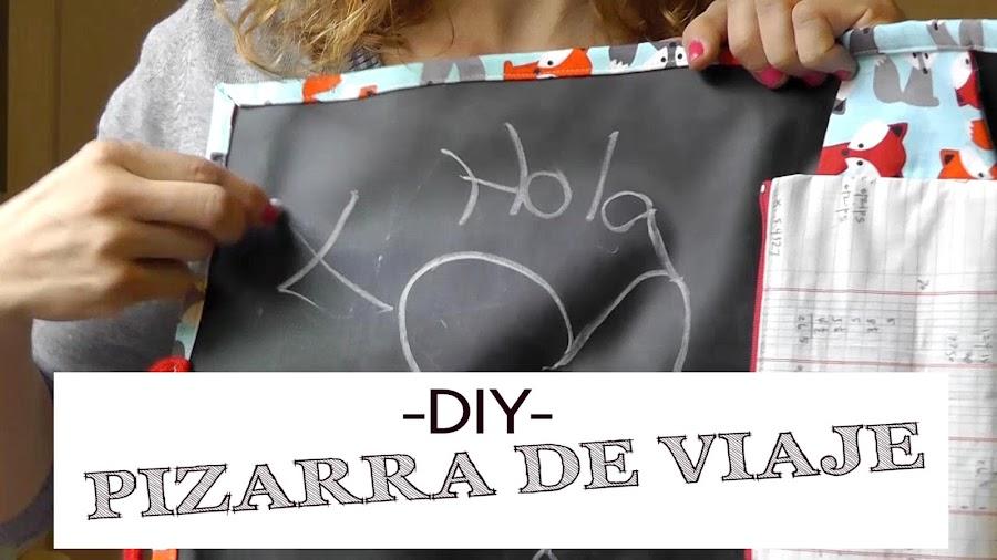 DIY Costura: Pizarra de Viaje para niños. (Patrones Gratis)