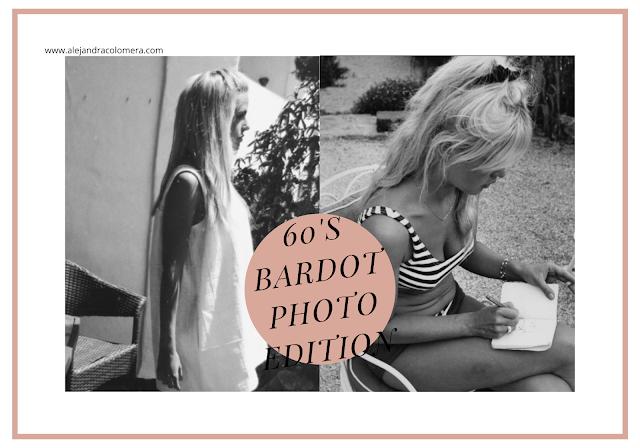 Cabecera 60's Bardot photo edition