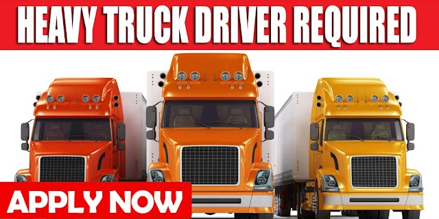 HEAVY TRUCK DRIVER REQUIRED