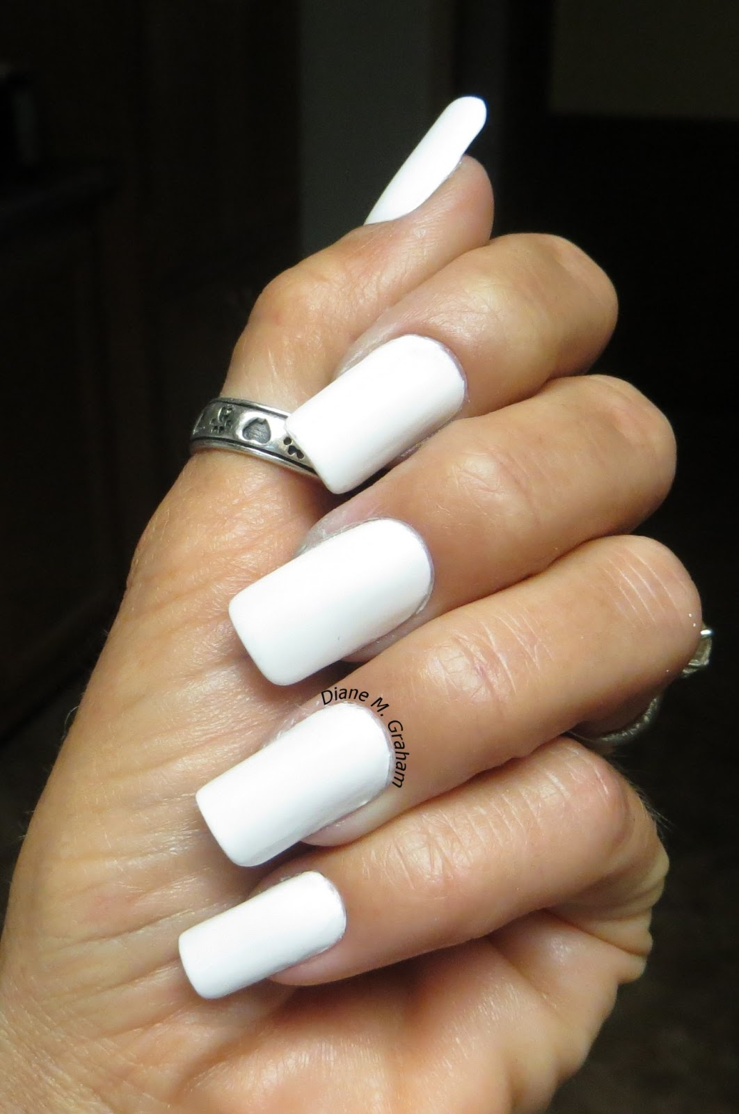 All White Nails With Design | www.pixshark.com - Images ...