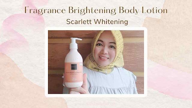Brightening Body Lotion Scarlett Whitening