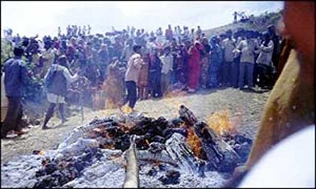 Sati Ritual India