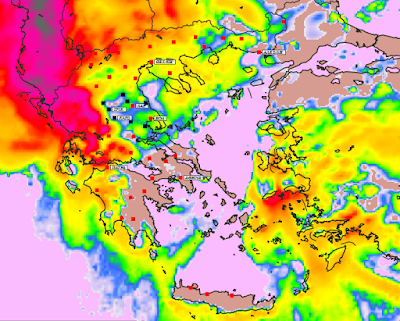 4 - Υψηλές θερμοκρασίες και επιλεκτικές βροχές την Παρασκευή