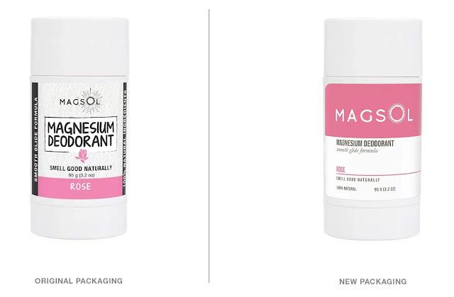 Magsol Rose Magnesium Deodorant review