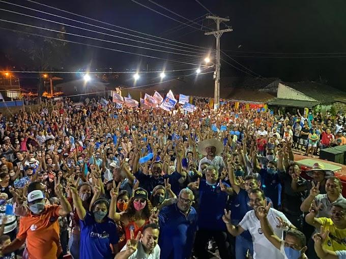 Zé Carlos mostra força política em eventos e com 'racha' da oposição encaminha sua reeleição