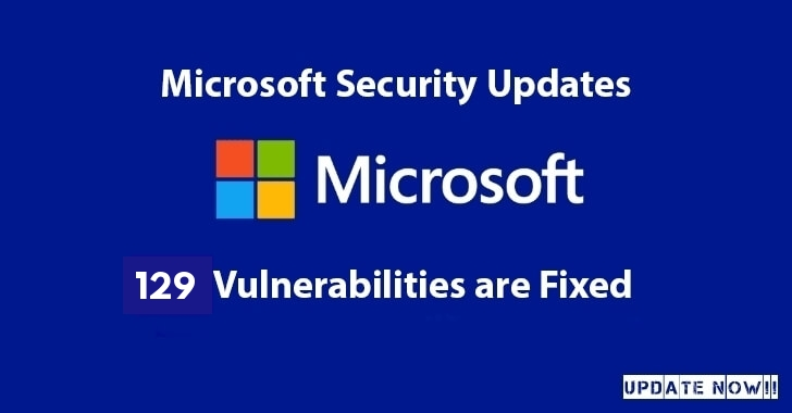 Microsoft Released a Largest-Ever Security Patch with the Fixes For 129 Vulnerabilities – Update Now