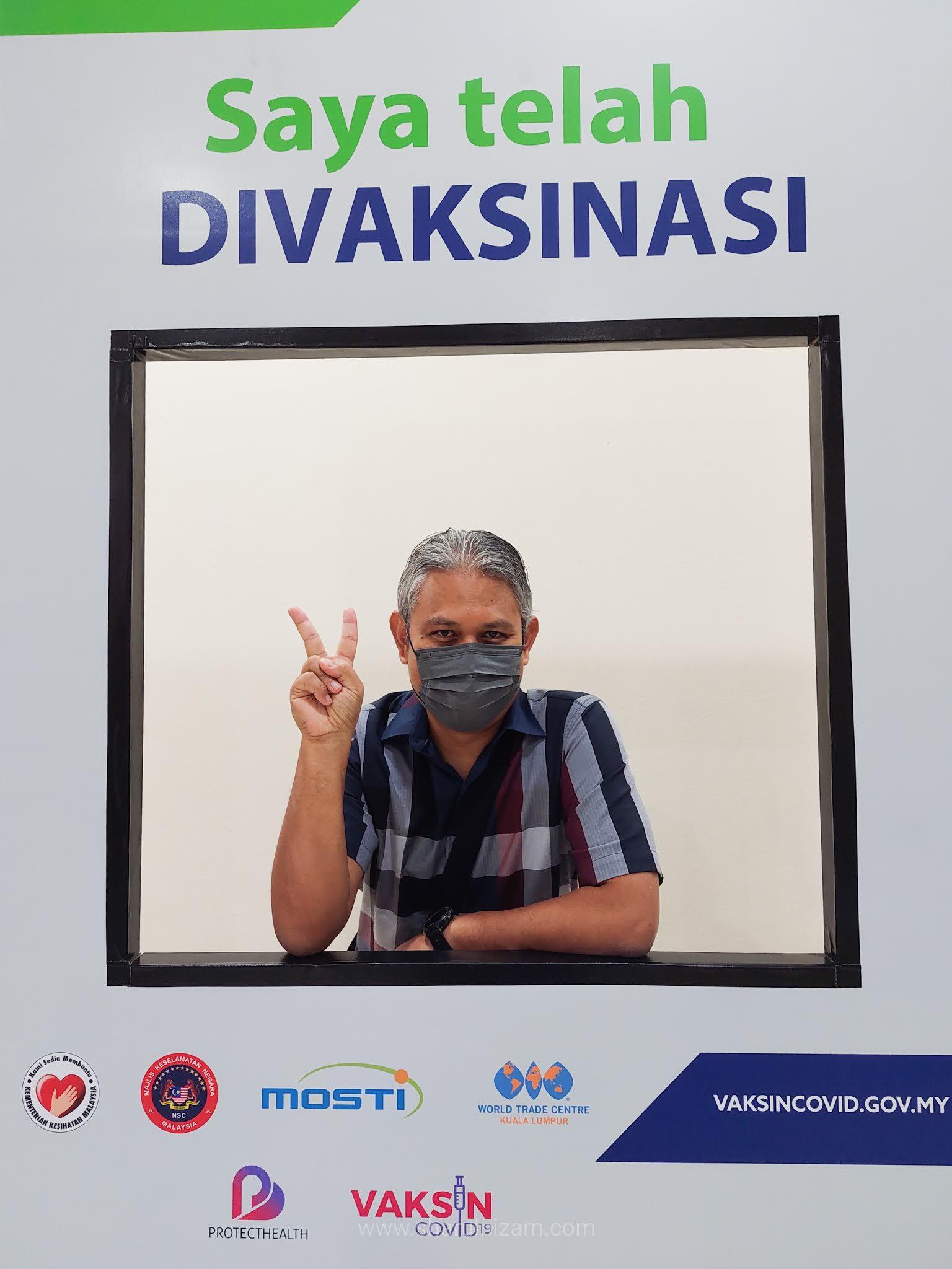 Pengalaman Disuntik Vaksin AstraZeneca Di PWTC Dan Kesan Selepasnya