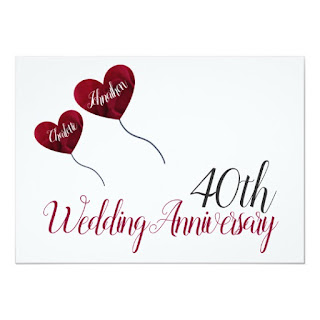 40th Anniversary Wishes