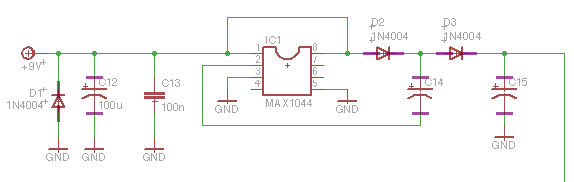 voltage doubler schematic