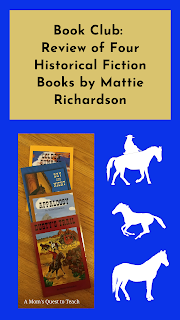 four books by Mattie Richardson