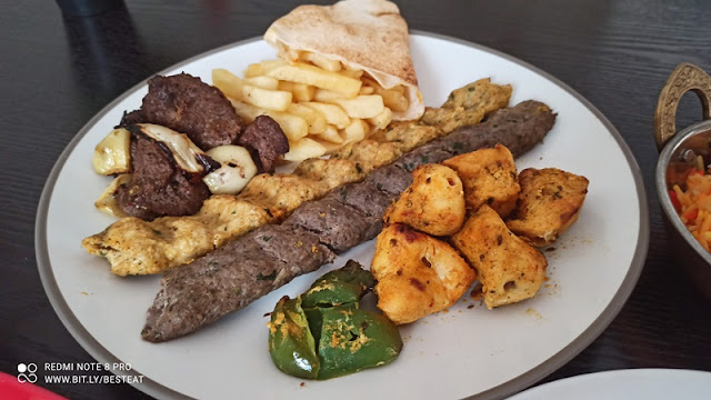 Syrian House BBQ Mixed Grill Platter