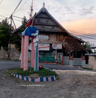 Pantai Mandala Ria: Petunjuk Jalan di desa Ara +fotojelajahsuwanto+