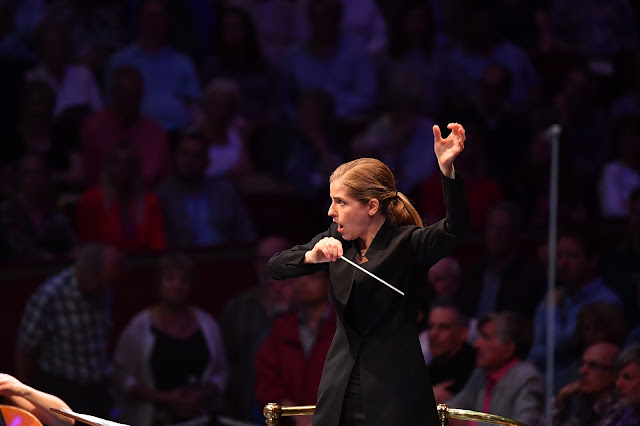 Zosha Di Castri: Long Is the Journey - Short Is the Memory - Karina Canellakis, BBC Symphony Orchestra - BBC Proms at the Royal Albert Hall (Photo Chris Christodoulou)