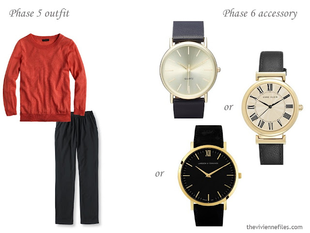 How to add accessories to a capsule wardrobe - watches