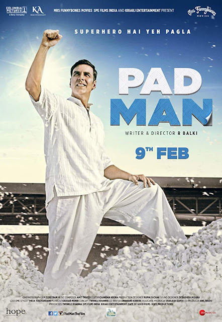 Padman BRRip 480p Free Download 400MB only