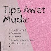 Tips Awet Muda.