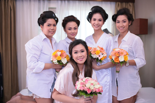 affordable wedding package cebu - hair and makeup