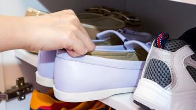 Tips Menyimpan Sepatu Secara Tepat