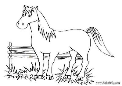 ausmalbilder zum ausdrucken: ausmalbilder pferde