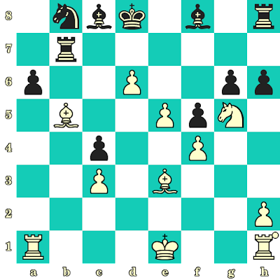 Les Blancs jouent et matent en 2 coups - Ian Rogers vs Zlatko Klaric, Nouro, 1984