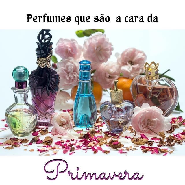 Perfumes florais que combinam com a primavera