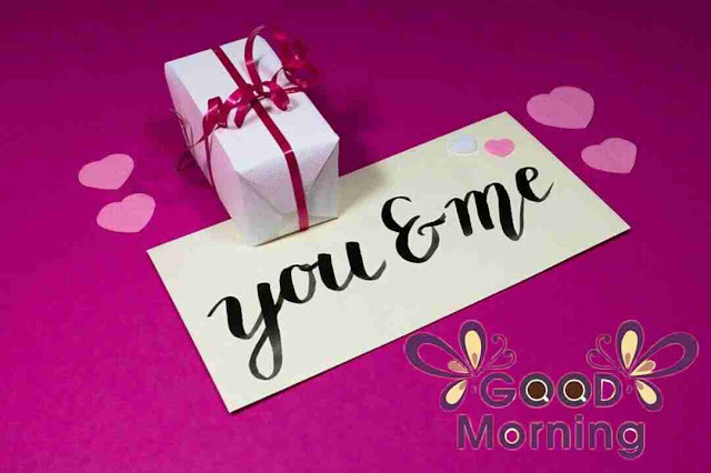 good morning image of valentine day gift