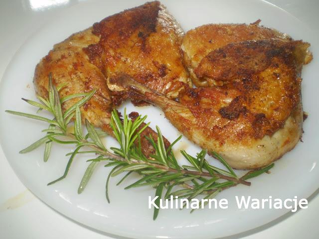 smazony kurczak z rozmarynem
