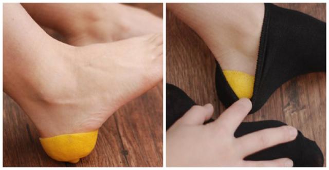 وضعت الليمون أسفل قدميها فاندهشت بالنتيجة... اكتشفي لماذا ! |ملكة العرب.