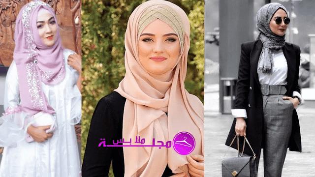 أفضل أنماط الحجاب للفتيات القصيرات لتبدو طويلة