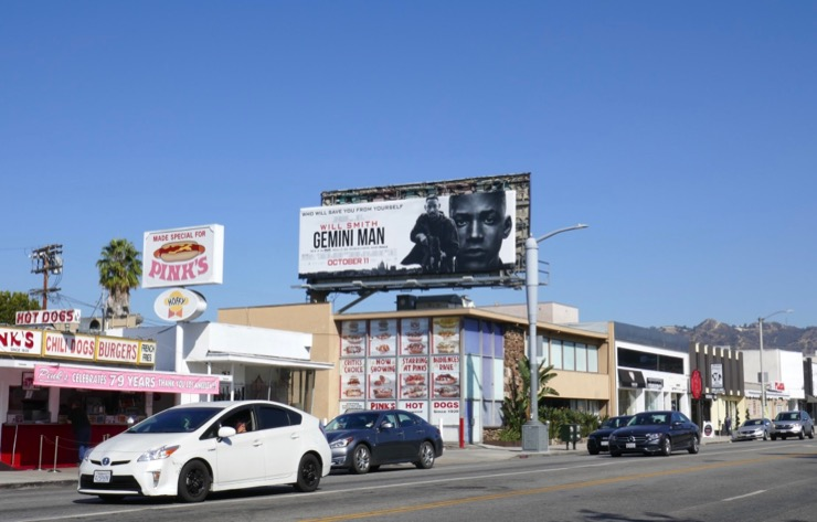 Gemini Man billboard