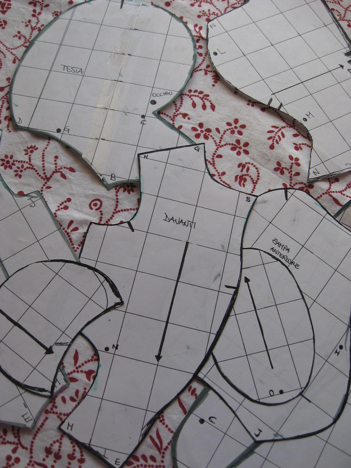 Carta e Cuci  L Orso... Work in progress 04c59173ccec