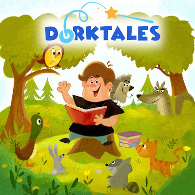 Learn more about the Dorktales Storytime Podcast by Jonathan Cormur.  This is a sponsored post, hosted by Kelly's Classroom Online.