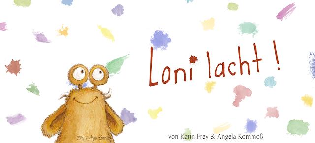 Loni der Pumpf, kinderbuchillustration, Kommoß, Glück, monster, kinderbuch