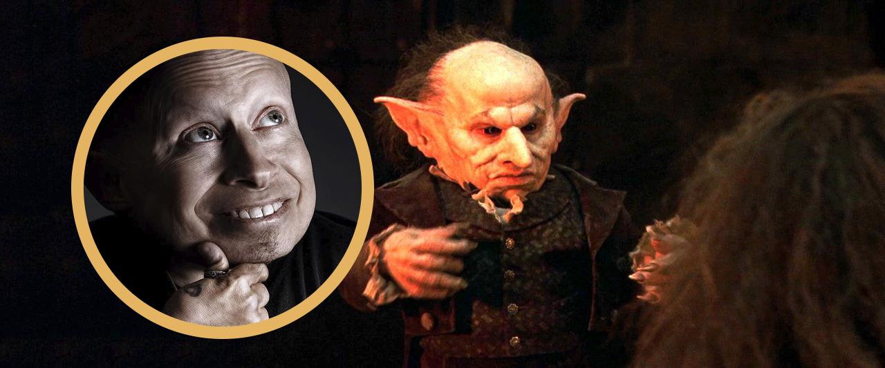 Morre Verne Troyer, o Grampo em 'A Pedra Filosofal', aos 49 anos.