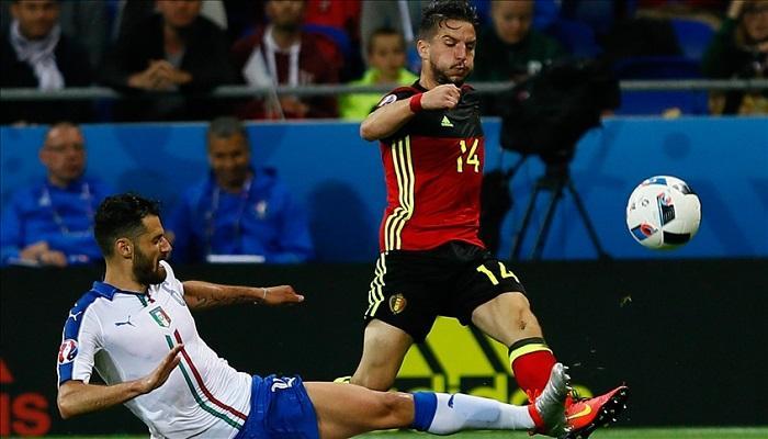 موعد مباراة ايطاليا وبلجيكا في دور ربع نهائي كأس الامم الاوروبيه
