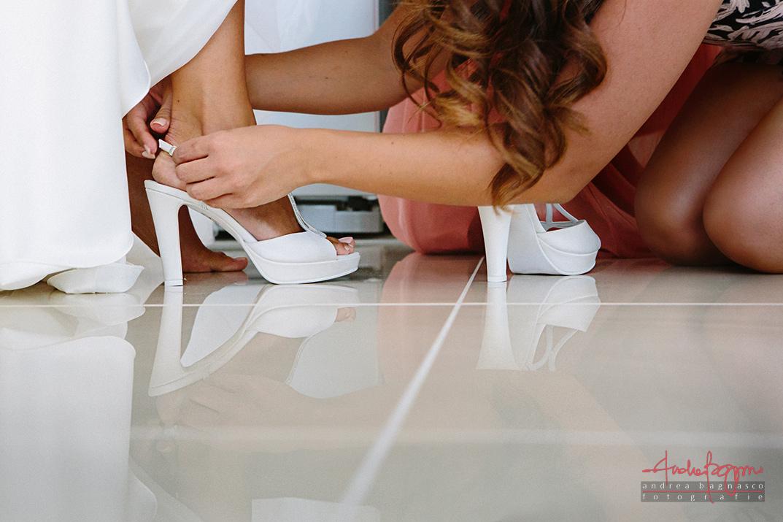 scarpe sposa matrimonio Varazze