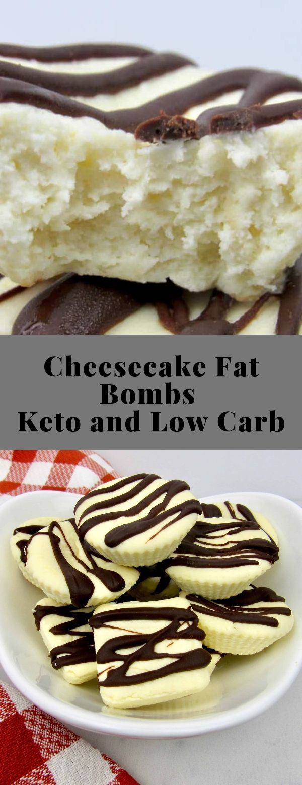 Cheesecake Fat Bombs - Keto and Low Carb #cheesecake #lowcarb #keto