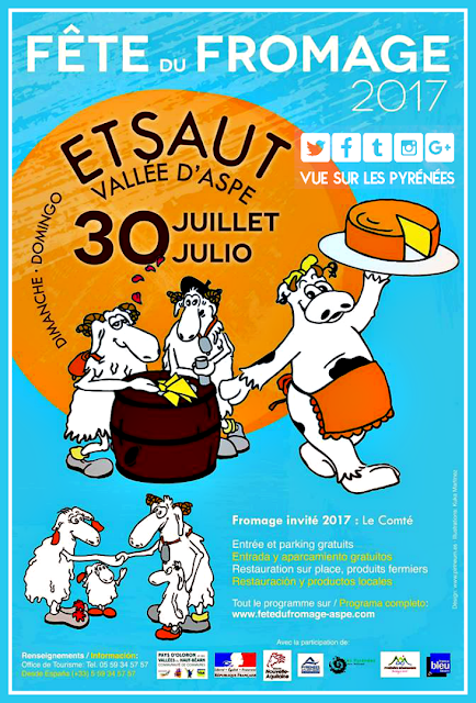 Fête de fromage Etsaut 2017