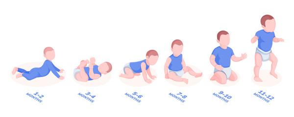 دليل متكامل لمعالم تطور الطفل عند عمر 3 أشهر