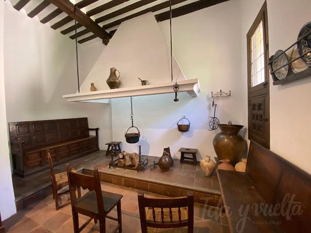Casa Museo Lope de Vega cocina